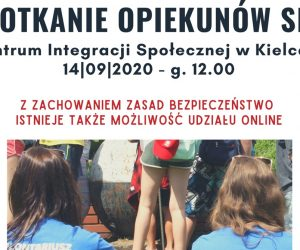 Zaproszenie na spotkanie opiekunów SKC
