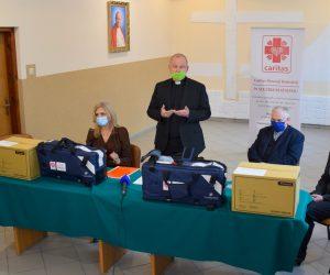 Respiratory od Caritas dla świętokrzyskich medyków