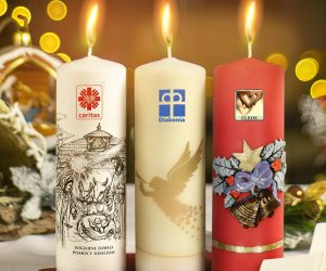 Świeca Caritas rozgrzewa serca