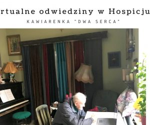 Wirtualne odwiedziny w miechowskim Hospicjum Caritas