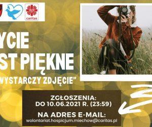 Konkurs fotograficzny Hospicjum w Miechowie