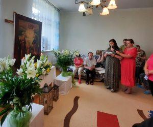 Peregrynacja Obrazu Św. Józefa w Zespole Placówek Caritas w Świniarach