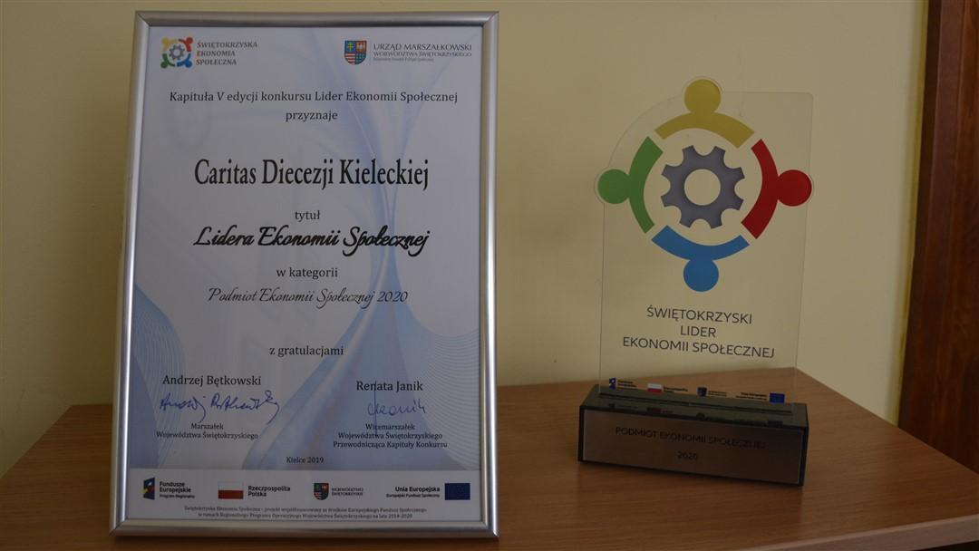 Read more about the article Caritas Kielecka Liderem Ekonomii Społecznej w Regionie