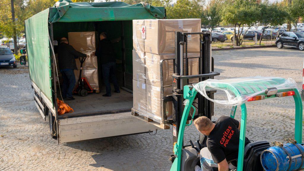 Pomoc Caritas wciąż płynie na polsko-białoruską granicę
